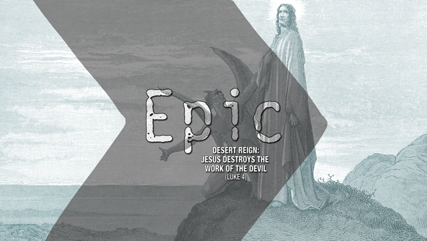 EPIC Jesus tempted
