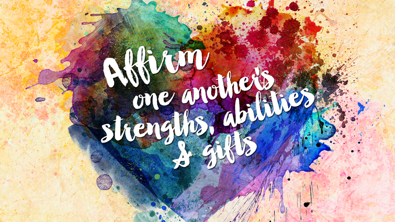 Affirm One Another