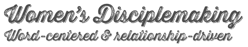 Womens Disciplemaking
