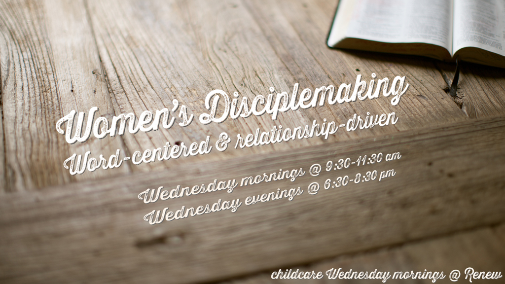 Women's Disciplemaking
