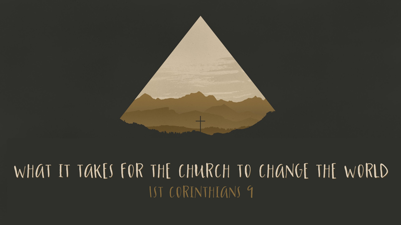 What it Takes for the Church to Change the World