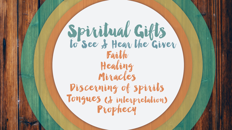 spiritual gifts what is their purpose God has given us spiritual gifts for many purposes ultimately, all of these gifts  have been provided to equip us to glorify god the gifts of the spirit were given.