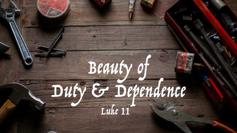 ReCreate: Beauty of Duty & Dependence